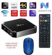 Android tivi box X96 mini Ram 2GB – Rom 16GB – Android 7.1.2 tặng kèm chuột không dây cao cấp