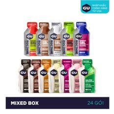 GEL NĂNG LƯỢNG GU ENERGY – MIXED BOX – HỘP 24 GÓI (12 VỊ)
