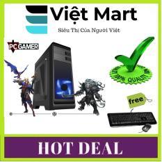 Máy Tính Cày Game (Core I3 3220, Ram 12GB, SSD 240GB, HDD 3TB, VGA GTX1070 8GB) VMJGA3+ Quà Tặng