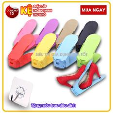 Combo 10 chiếc Kệ để giày dép thông minh – Kệ để giày dép thu nhỏ
