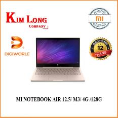 Laptop XIAOMI MI NOTEBOOK AIR 12.5/ M3/ 4G /128G/ VÀNG (GOLD) – Digiworld phân phố i