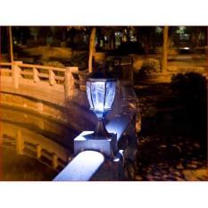 Đèn trụ cổng năng lượng mặt trời 1 Watt – L4E (ánh sáng trắng)