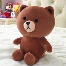 Gấu bông Brown khổ vải 80CM