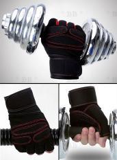 Găng tay thể hình tập GYM nam nữ, găng tay thể thao chống trơn xỏ ngón thoáng khí cao cấp – BlingBling