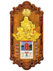 Lịch gỗ treo tường Phật Di Lặc 3DP9_DL