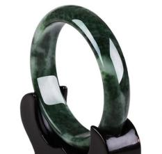Vòng tay nữ trang đá quý Ngọc Bích Nguyên Khối TỰ NHIÊN MlZ199