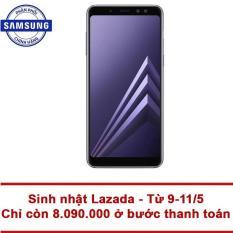 Samsung Galaxy A8 32GB RAM 4GB 5.6inch (Tím xám) – Hãng phân phối chính thức