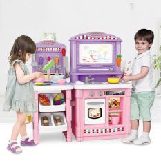 Bộ đồ chơi nhà bếp, đồ chơi nấu bếp cao cấp cho bé 70 chi tiết có tiếng kêu mô phỏng, kích thước lớn