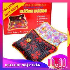 Túi chườm sưởi ấm giảm đau hiệu quả hiệu Hướng Dương – Việt nam (cỡ trung 25×34 cm)