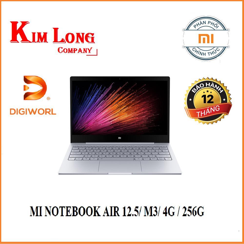 Laptop XIAOMI MI NOTEBOOK AIR 12.5/ M3/ 4G / 256G/ BẠC (SILVER)/ VÀNG (GOLD) - Digiworld phân phối