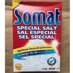 Muối Rửa Chén Bát Somat Special Salt 1,2 Kg,Muối Chuyên Dụng Dùng Cho Máy Rửa Bát