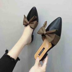 giày sục nơ vải gót 2p hot hit