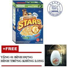 Ngũ Cốc Ăn Sáng Nestlé Honey Stars 300g – tặng 01 bình đựng hình trứng Khủng Long