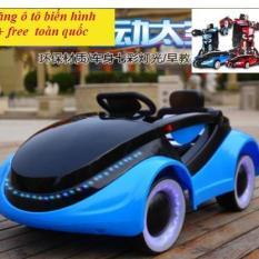 xe ô tô điện trẻ em DY-6699 ( tặng ô tô biến hình+ free)