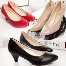 Giày búp bê nữ có gót đáng yêu – 169