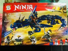 Siêu Hot – Bộ Lego Xếp Hình Ninjago Siêu Robot Rồng Chiến Đấu ( 537+ Chi Tiết)