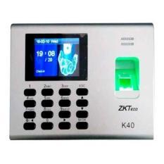 Máy chấm công vân tay ZKTeco K40 (Có pin lưu điện 8h)