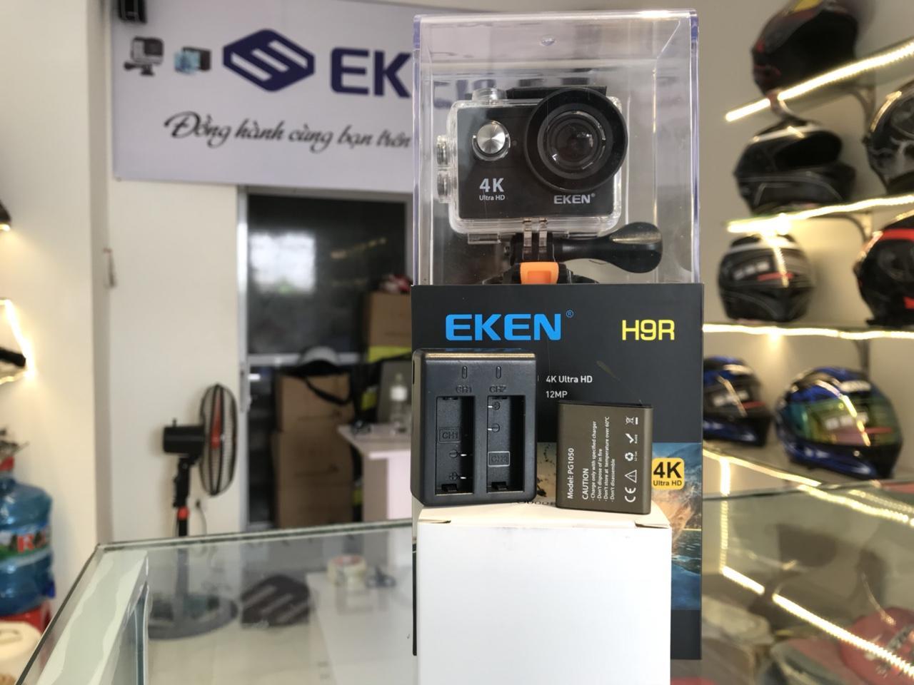 Camera Eken H9r thêm 1 pin 1 sạc đôi mới nhất 2018 – EKEN STORE