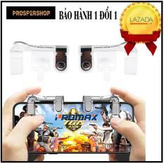 [COMBO] Tay cầm chơi game + Nút bấm chơi Pubg làm bằng kim loại siêu bền, không rỉ , siêu nhạy
