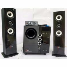 Dàn âm thanh tại nhà -HIFI hát karaoke âm thanh đỉnh cao có kết nối Bluetooth USB Isky – SK329 (Tặng kèm Micro hát)