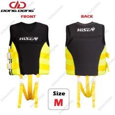 Áo phao bơi cứu hộ YELLOW HISEA cho người dưới 50kg, chuyên dùng cho các môn thể thao dưới nước, đạt tiêu chuẩn EU cao cấp – DONGDONG