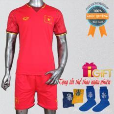 Quần áo bóng đá U23 Việt Nam Đỏ có Logo