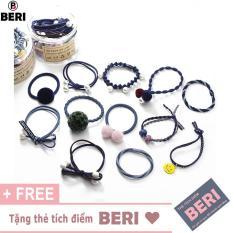 Phụ kiện tóc nữ Hàn Quốc (12 món) BERI 031-036