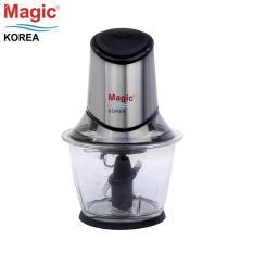 Máy xay thực phẩm đa năng cối thủy tinh, 02 lưỡi dao kép Magic Korea A14