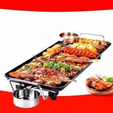 Bếp nướng điện không khói cao cấp vân đá SS01