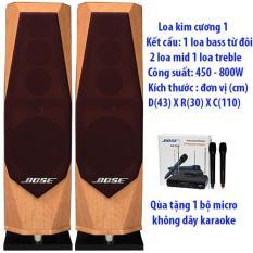 Loa đứng Kim Cương 1 Karaoke nghe nhạc (thiết kế sang trọng)