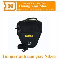 Túi tam giác đựng máy ảnh NIKON (Đen)