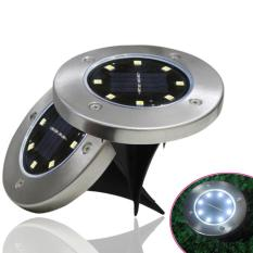 Đèn led trang trí sân vườn năng lượng mặt trời (đèn tròn8 bóngled)