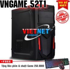 Máy tính chơi game 52T1 2400 card GTX-750 8GB Hdd 500GB (chuyên game LOL, Fifa, Đột kích, minicraft)