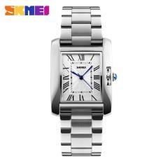 Đồng hồ nữ chống nước Skmei V07 dây thép không gỉ kiểu dáng thanh lịch