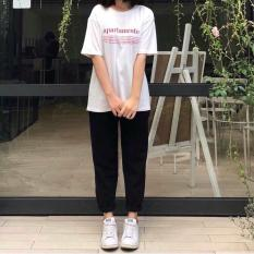 quần kaki nữ Basic pants Unisex vải mềm mịn siêu đẹp SHOP VANLE