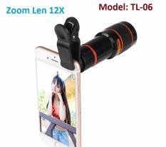 Ống kính Tele Zoom 12X cho điện thoại, máy tính bảng TL-06