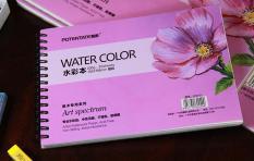 Sổ vẽ Potentate-22771-Sổ A5-Sổ vẽ màu nước, Watercolor pad ,sketch, Drawing book -Kích thước 195×135
