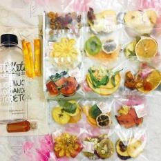 Set detox 30 gói trái cây sấy khô Hàn Quốc TẶNG Bình đựng- ĐẸP DA- GIỮ DÁNG-GIẢM CÂN