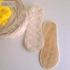 Lót giày xơ mướp 100% Tự Nhiên XM007