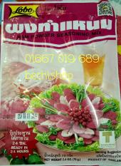 Bộ 5 gói gia vị làm nem chua Thái Lan LOBO
