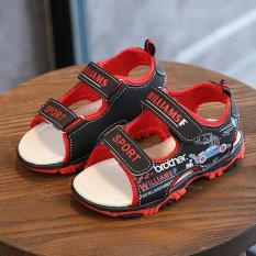 Dép sandal cho bé – Đen/Nâu – Size 21 đến 30 – V107