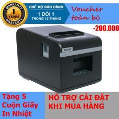 Máy in hóa đơn XPRINTER N160II KHỔ GIẤY 80mm (CỔNG KẾT NỐI USB) – Nhập Khẩu