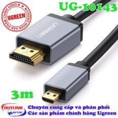 Cáp Micro HDMI to HDMI dài 3M Ugreen 10143