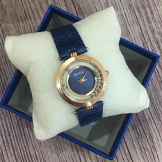 SIÊU HOT – Đồng hồ nữ GUOU đá chạy thời trang GR-G0474