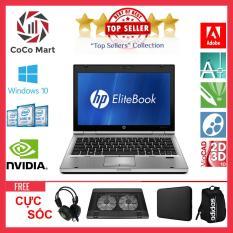 Laptop HP EliteBook 2560p Chạy CPU i5-2520M, 12.5inch, 4GB, SSD 120GB + Bộ Quà Tặng – Hàng Nhập Khẩu