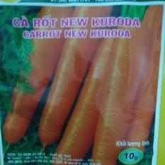 Hạt giống Cà rốt New Kuroda – Italy – gói 10g – CARROT NEW KURODA