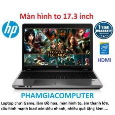 Laptop HP Probook 4730s Core i5 Ram 8G SSD 128G VGA rời AMD màn hình 17.3 – Máy nhập khẩu Nhật-Tặng Balo, chuột không dây