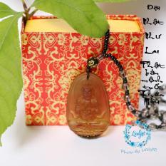 Chuỗi hạt đeo cổ mặt Đại Nhật Như Lai – Phật bản mệnh người tuổi Mùi, Thân