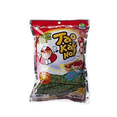 Combo 4 Gói Snack Rong biển Taokaenoi Sấy Crispy Seaweed vị Cay 15g
