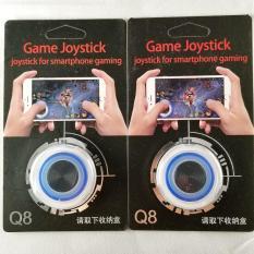 Nút Bấm Chơi Game Mobile Joystick Q8 Đế Bám Dính Siêu Tốt Nhiều Màu – Màu Xanh Dương